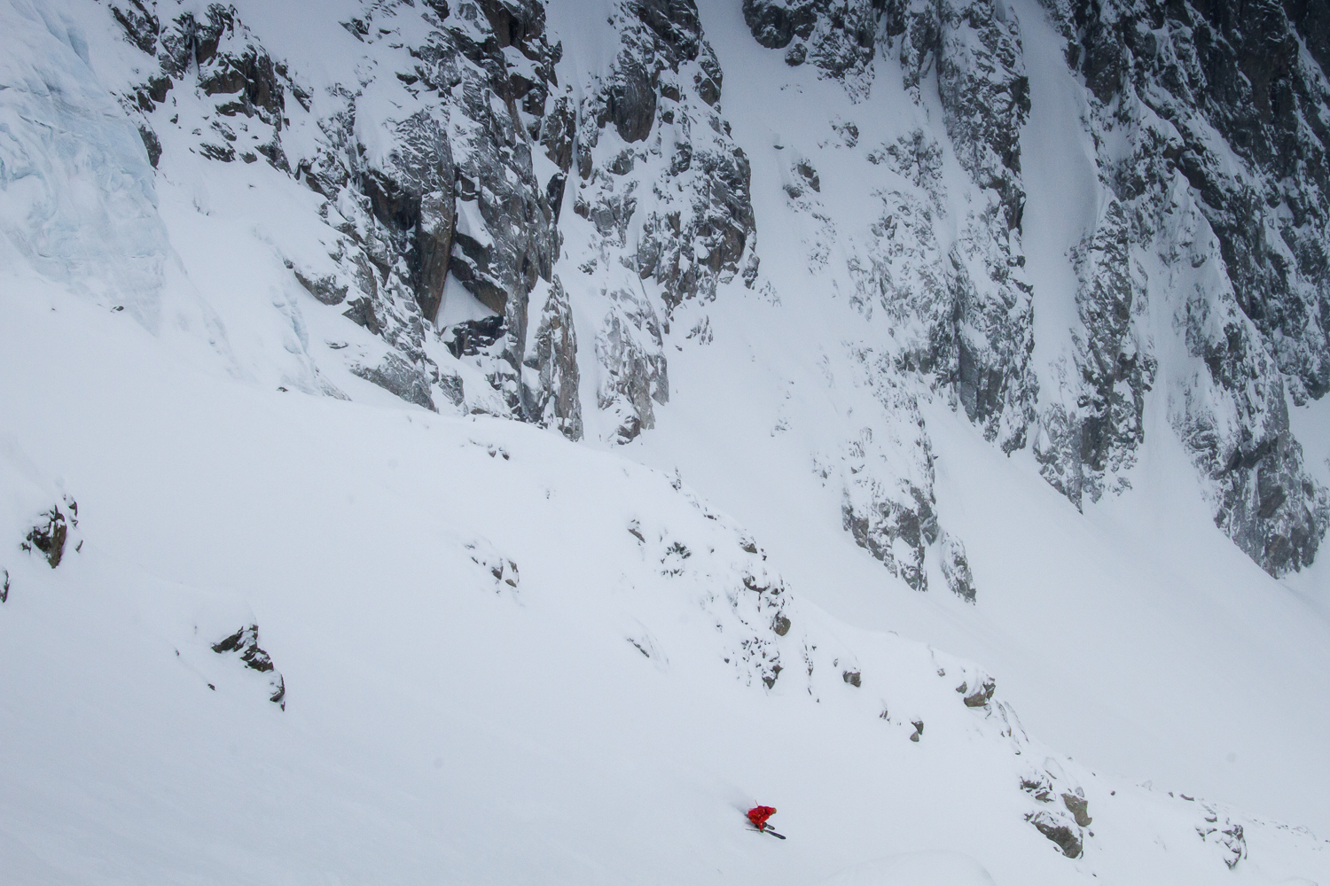 Forrest Coots traveling through France skiing La Grave and Chamonix.