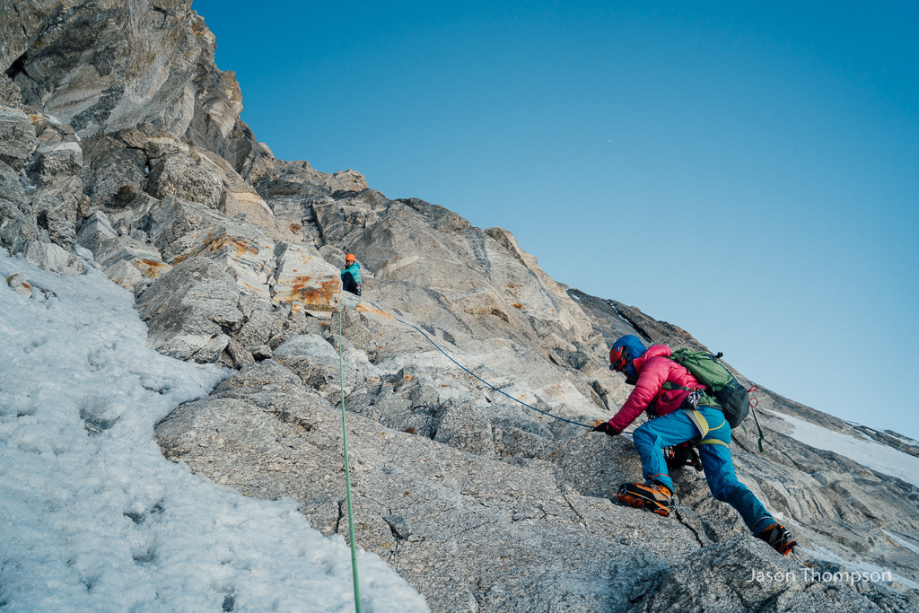 Caro North, Anne Gilbert Chase and Jason Thompson, Mt Nilkantha Expedition, Garhwal Himalaya, India